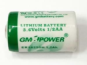 1/2AA 電圧3.6Vリチウム乾電池【Macバックアップ用】 Mac用 3.6V内蔵リチウム電池 CBT36V同等品