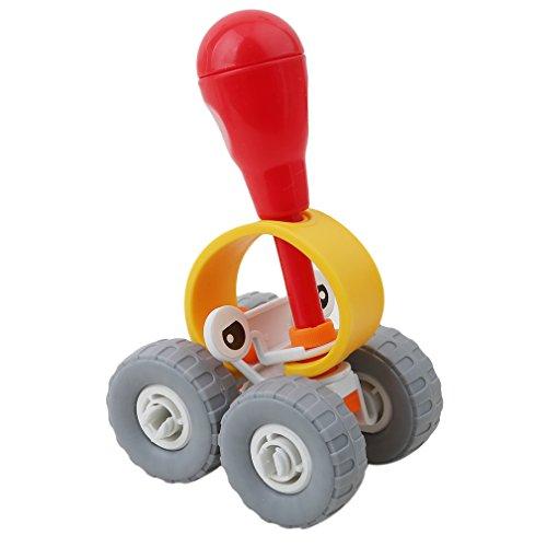 Honel 組み立て おもちゃ プラスチック 幼児 キッズ 知育玩具 (乗用車)...