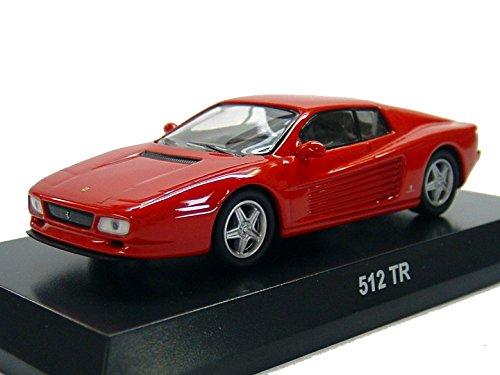 京商 1/64 フェラーリ ミニカーコレクション4 フェラーリ 512TR 赤