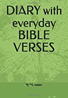DIARY with everyday  BIBLE VERSE