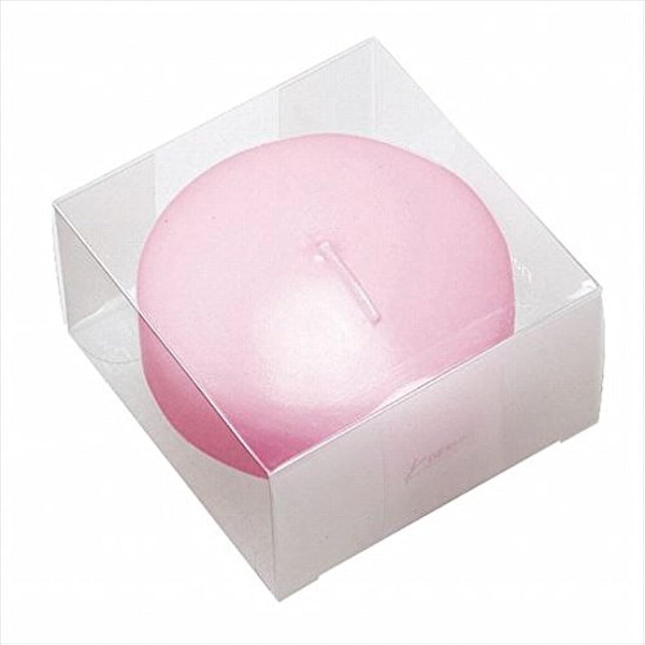 場所鹿合図カメヤマキャンドル(kameyama candle) プール80(箱入り) 「 ピンク 」