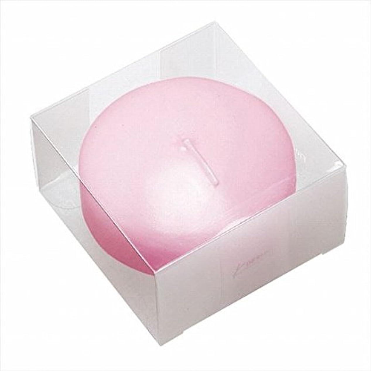 キャンバス山岳慣れているカメヤマキャンドル(kameyama candle) プール80(箱入り) 「 ピンク 」
