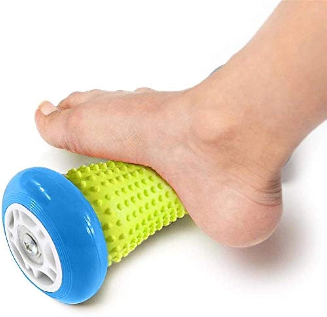 細胞アナロジーサスティーンフットマッサージローラー - 筋肉ローラースティック - 足底筋膜炎手首と前腕運動ローラー用手首と前腕運動ローラー、足底筋膜炎などのための回復ツール