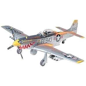 タミヤ 1/48 傑作機シリーズ No.44 アメリカ陸軍 ノースアメリカン F-51D マスタング 朝鮮戦争仕様 プラモデル 61044