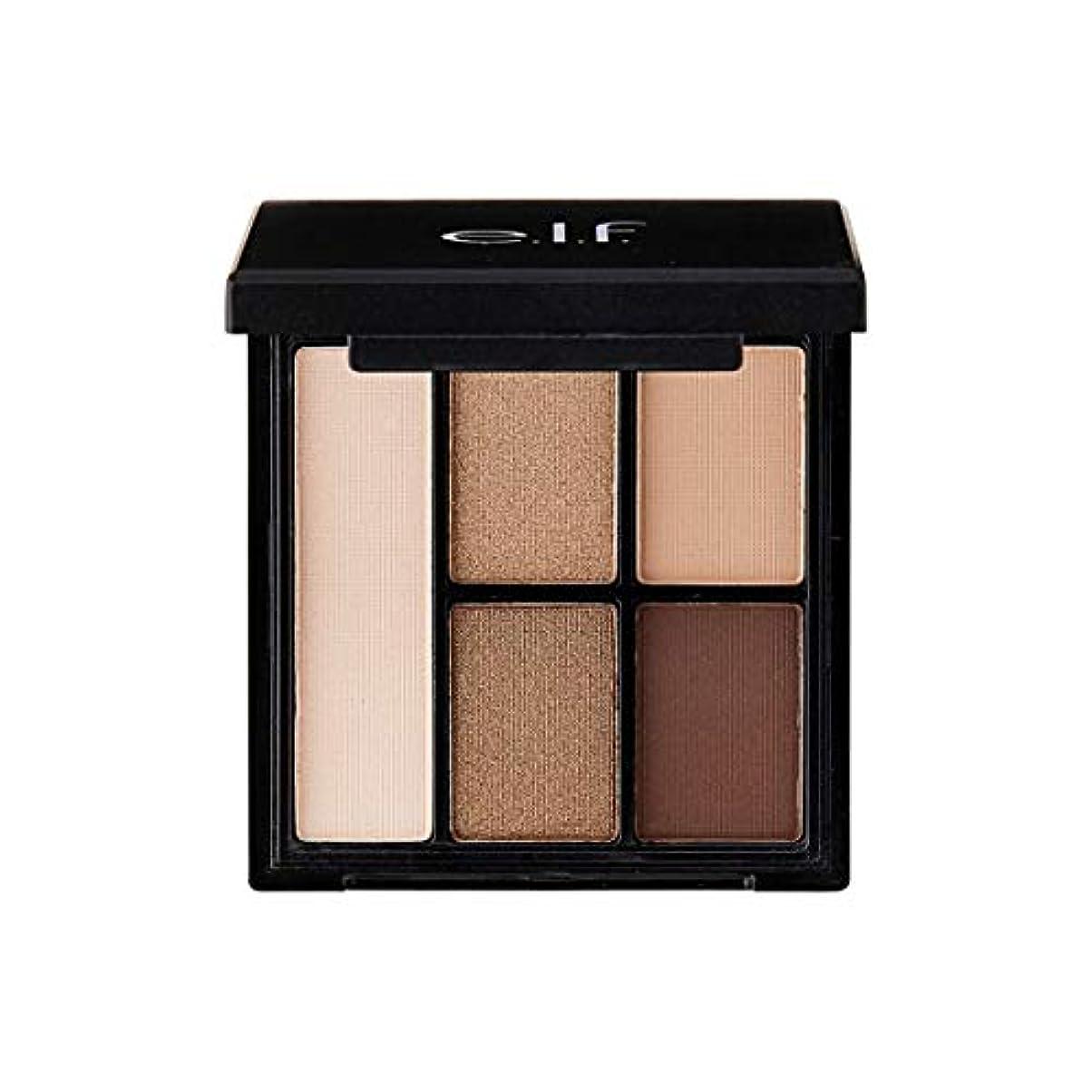 畝間操る持続的e.l.f. Clay Eyeshadow Palette Nearly Nudes (並行輸入品)