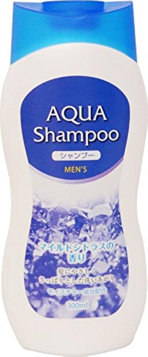 洗うマット収縮長良化学 AQUA メンズシャンプー 300ml