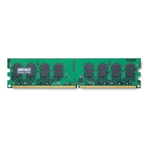 BUFFALO D2/667-512M DDR2 SDRAM(PC2-5300) DIMM
