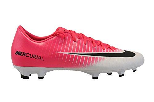 Nike Mercurial Victory VI FG Mens Football Boots 831964 Soccer Cleats (Uk 8 Us 9 Eu 42.5, Racer Pink Black White 601)