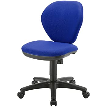 サンワダイレクト オフィスチェア SOHOチェア oaチェア パソコンチェア ブルー 100-SNC025BL