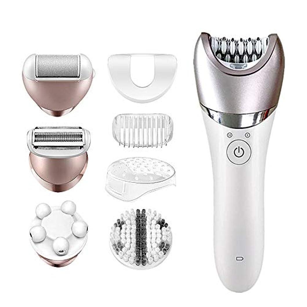 鑑定おもてなし歯女性用脱毛器、乾湿脱毛器、クレンジングインストゥルメントマッサージャー付き体、顔、脇の下、ビキニライン用の痛みのない除去