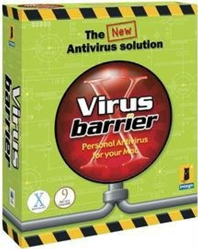 介入する気性複合VirusBarrier X for MacOS X 日本語版 5 User License