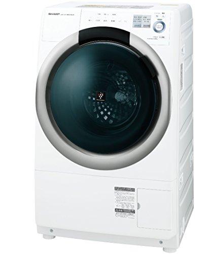 シャープ ドラム式洗濯乾燥機 プラズマクラスター搭載 7Kgタイプ 左開き ホワイト ES-S7A-WL