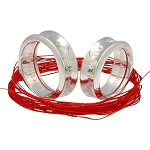 TIFFANY&Co.(ティファニー) LOVE OF DESTINY~運命の赤い糸~1837ペアリング (赤い糸+刻印+ラッピング付) 並行輸入品 | スタンダードリング 通販