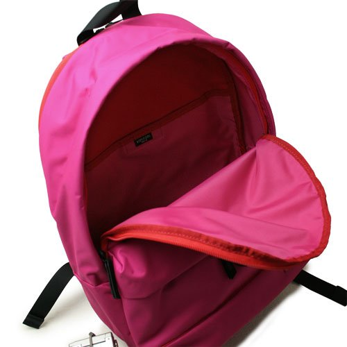 c3aa430abf Yoshida Bag PORTER GIRL MOUSSE Backpack Rucksack 751-09876 Red New F ...
