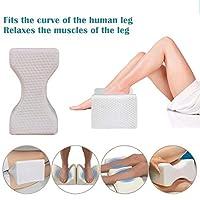 整形外科記憶泡膝ウェッジ枕睡眠坐骨神経痛腰痛緩和輪郭太もも脚パッドサポートパッド (容量 : 3PACK)