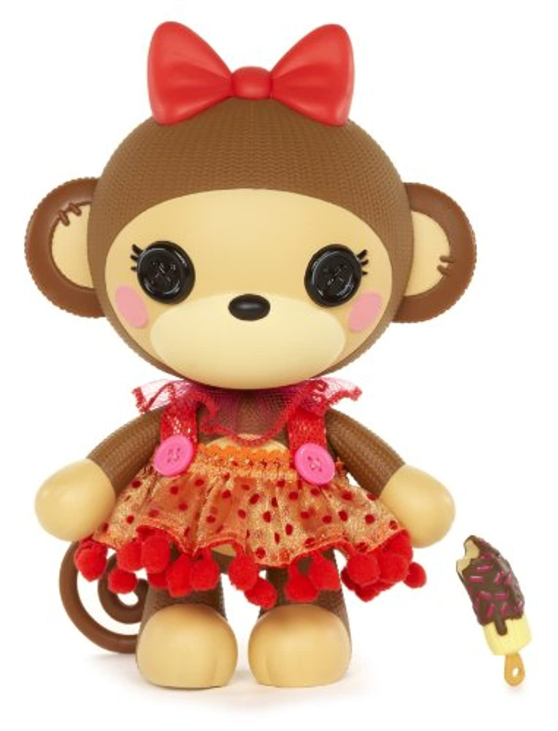 Lalaloopsy Pet Pals Tickles B. Nana Doll