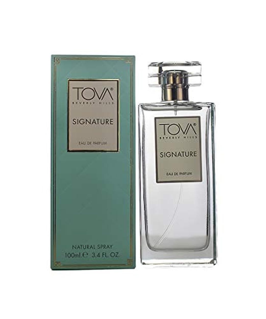 慣らすマーカー意図的Tova Signature Fragrance (トヴァ シグネチャ- フレグランス) 3.4 oz (100ml) EDP Spray (New Package 新デザイン)