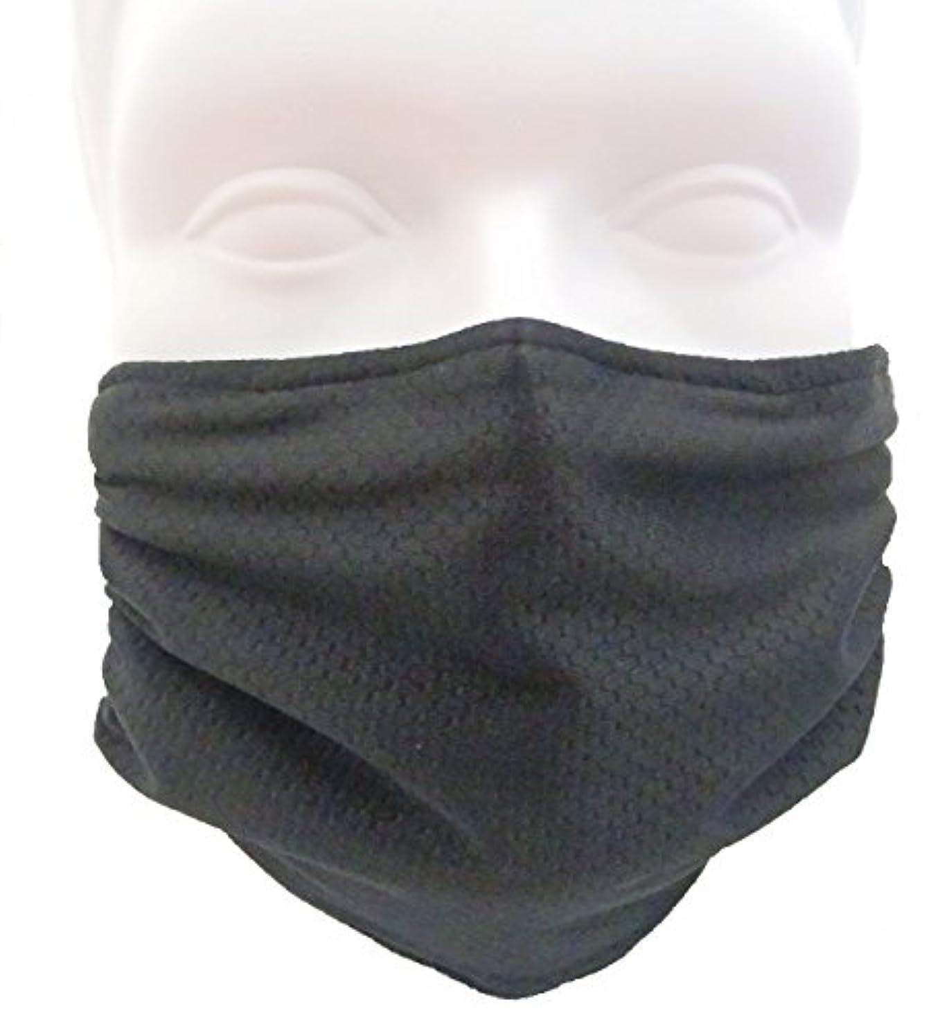 十分に稚魚麻痺させるBreathe Healthy(ブリーズヘルシー) ハニカムマスク ブラック