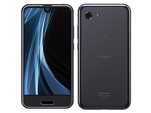 シャープ AQUOS R compact SH-M06 (シルバーブラック)4.9インチ SIMフリースマートフォン SH-M06-S