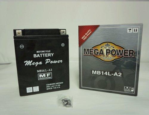 バイク バッテリー GPZ900R Ninja 型式 ZX900A 一年保証 HB14L-A2 密閉式