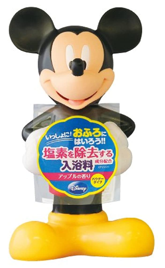 捨てる真向こう畝間ディズニー バスタイム 3D入浴料 ミッキーマウス 180g