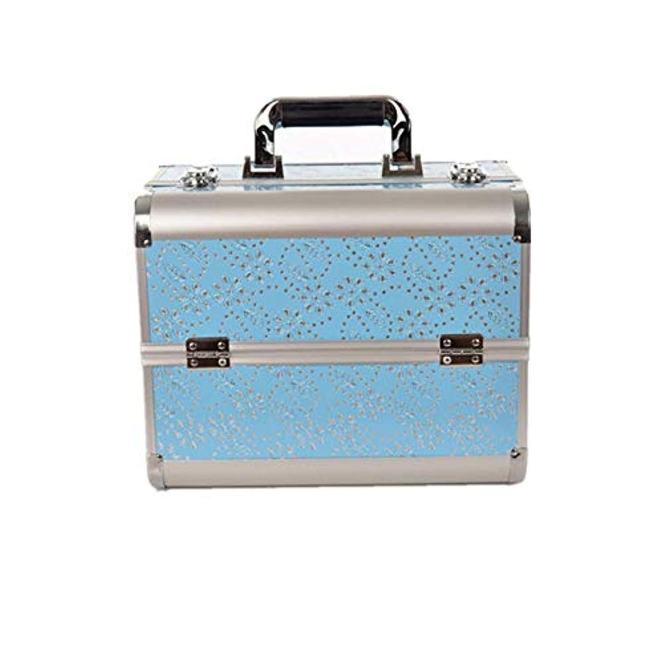 同情的未知のアルプス化粧オーガナイザーバッグ 大容量ポータブル化粧ケース(トラベルアクセサリー用)シャンプーボディウォッシュパーソナルアイテム収納式 化粧品ケース