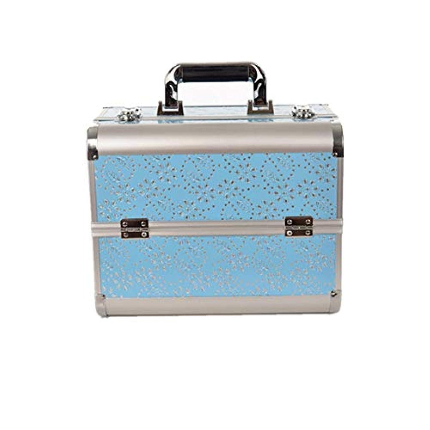 着服年金受給者奇跡化粧オーガナイザーバッグ 大容量ポータブル化粧ケース(トラベルアクセサリー用)シャンプーボディウォッシュパーソナルアイテム収納式 化粧品ケース