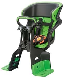 OGK ヘッドレスト付コンフォート 前子供のせ FBC-011DX3 ブラック/グリーン