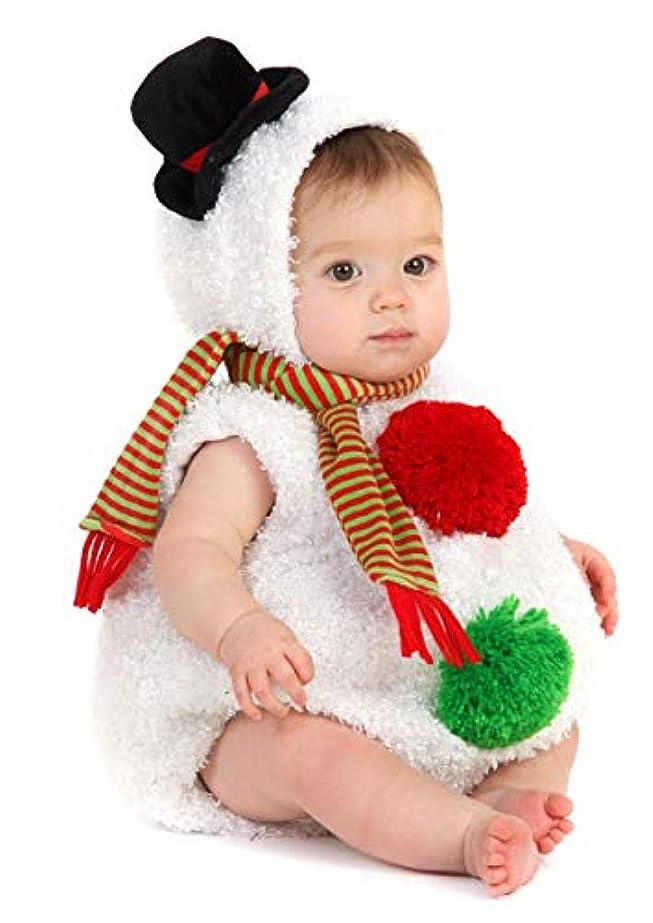 ウミウシバスルーム適応Baby Snowman Infant/Toddler Costume 赤ちゃん雪だるま乳児/幼児コスチューム サイズ:18 Months/2T