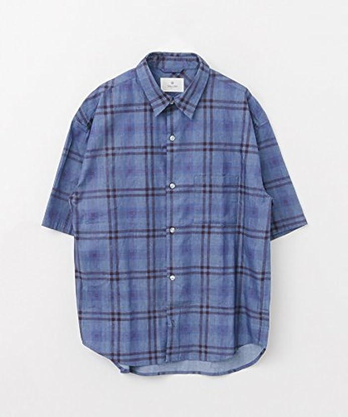 絶縁する週間ピュー(サニーレーベル) Sonny Label フェードチェック半袖シャツ LA85-13S018