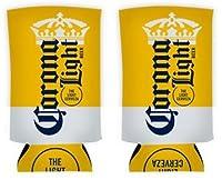 Corona Extra Light Slim Can 350ml Koozie - Pack of 2