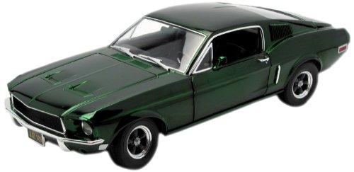 グリーンライト 1/18 フォード マスタング ファストバック 1968 S.マックイーン グリーンクローム仕様