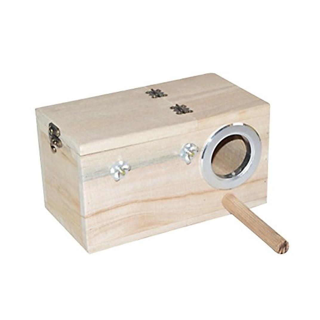 赤ちゃん手入れコスチュームUKCOCO 鳥の巣 木製 バードハウス 皿巣 鳥栖 小鳥のハウス 寝床 隠れ家 バードハウス