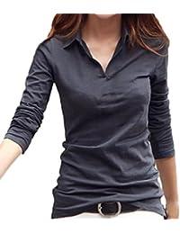 (サコイユ) sakoiyu カットソー Tシャツ レディース 襟付き トップス シャツ 長袖