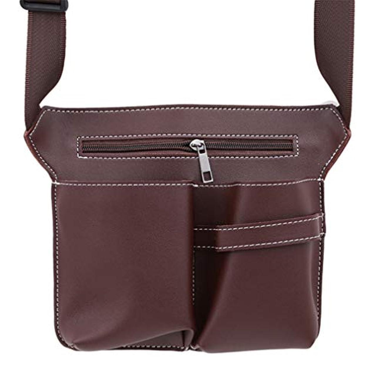 ハムごめんなさい決済MARUIKAO メイクブラシケース ウエストポーチ 収納バッグ はさみ オーガナイザー ホルダー 化粧ツール 便利グッズ ベルト 美容師 美容用品 保管ポケット