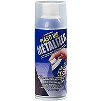 プラスティディップ 剥がせる塗料 ラバースプレー缶 メタライザー シルバー