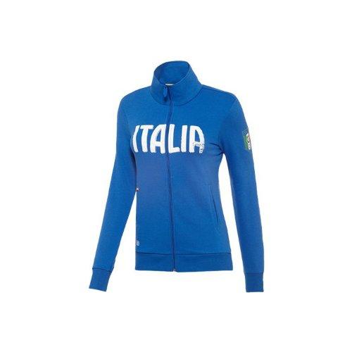 Puma Italy Women Track Jacket World Cup 2014 Blue/サッカートレーニングウェア トラックジャケット イタリア代表 女子 ワールドカップ2014 (L)