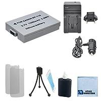 BP - 110充電式バッテリー+車/ホーム充電器for Canonカメラ+ Complete Starterキット