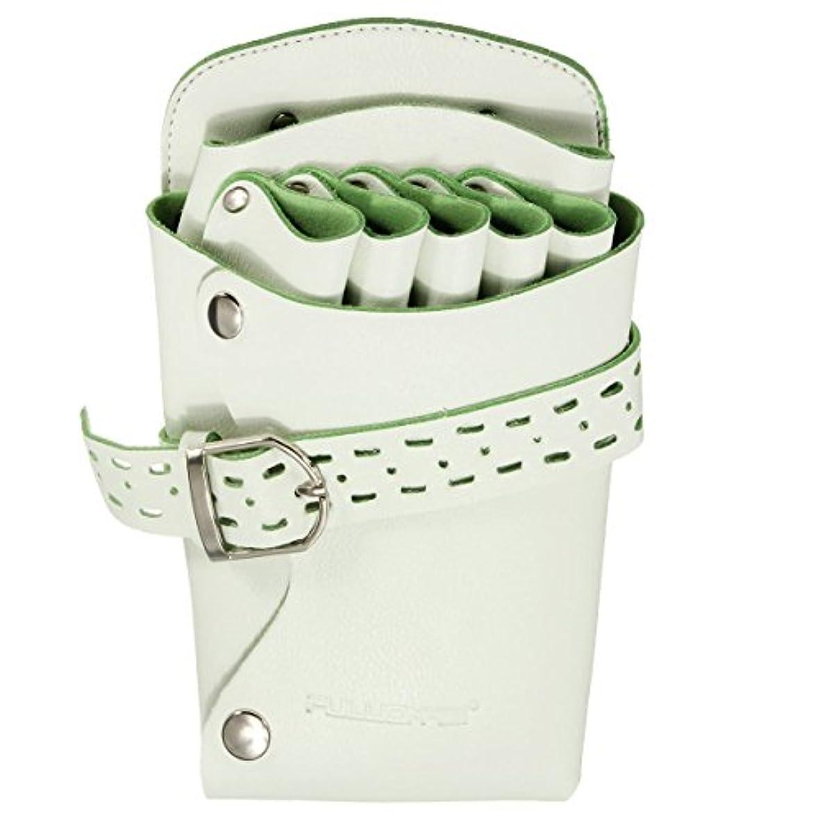 生息地刈り取る問題シザーケースシザーバッグ ハサミ収納 美容師 サロン トリマー 用 2色 淡い緑色