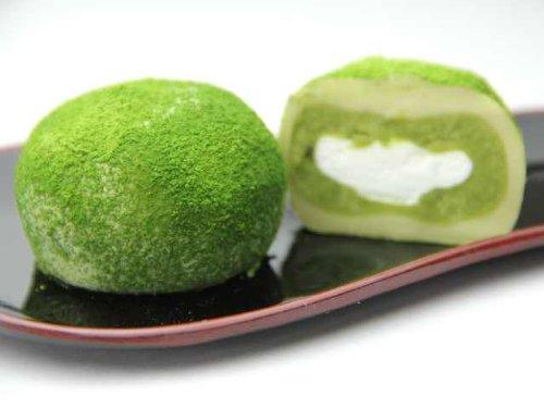 抹茶クリーム大福 20個入セット (抹茶×20) (抹茶×20)