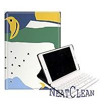 NeatClean iPad pro11ケース キーボード 花柄 iPad Air10.5 ケース bluetooth キーボード iPad Pro11 ケース ipad 9.7 ケース キーボード iPad 9.7 インチ ケース 2018 第六世代 2017 第五世代 ipad pro 10.5 ケース キーボード対応 Pro9.7ケース Air2ケース Airケース iPad mini5ケース mini4ケース mini3ケース mini2ケース miniケース iPadケース キーボード付き ケース アイパッドケース おしゃれ ボタニカル柄 フラワー カラフル 総柄 花柄 シンプル 水彩画 お花