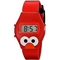 [セサミストリート]Sesame Street Kids' Talking Elmo Digital Display Red Watch SW630EL [並行輸入品]