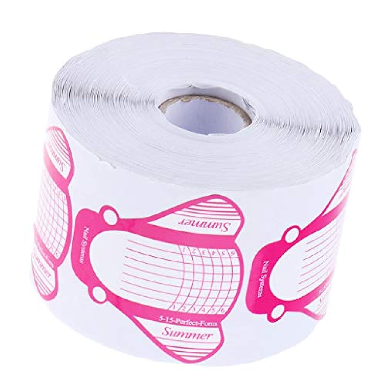 非難通知する対応する約500枚 ジェルネイル用 ネイルフォーム 高品質 紙製