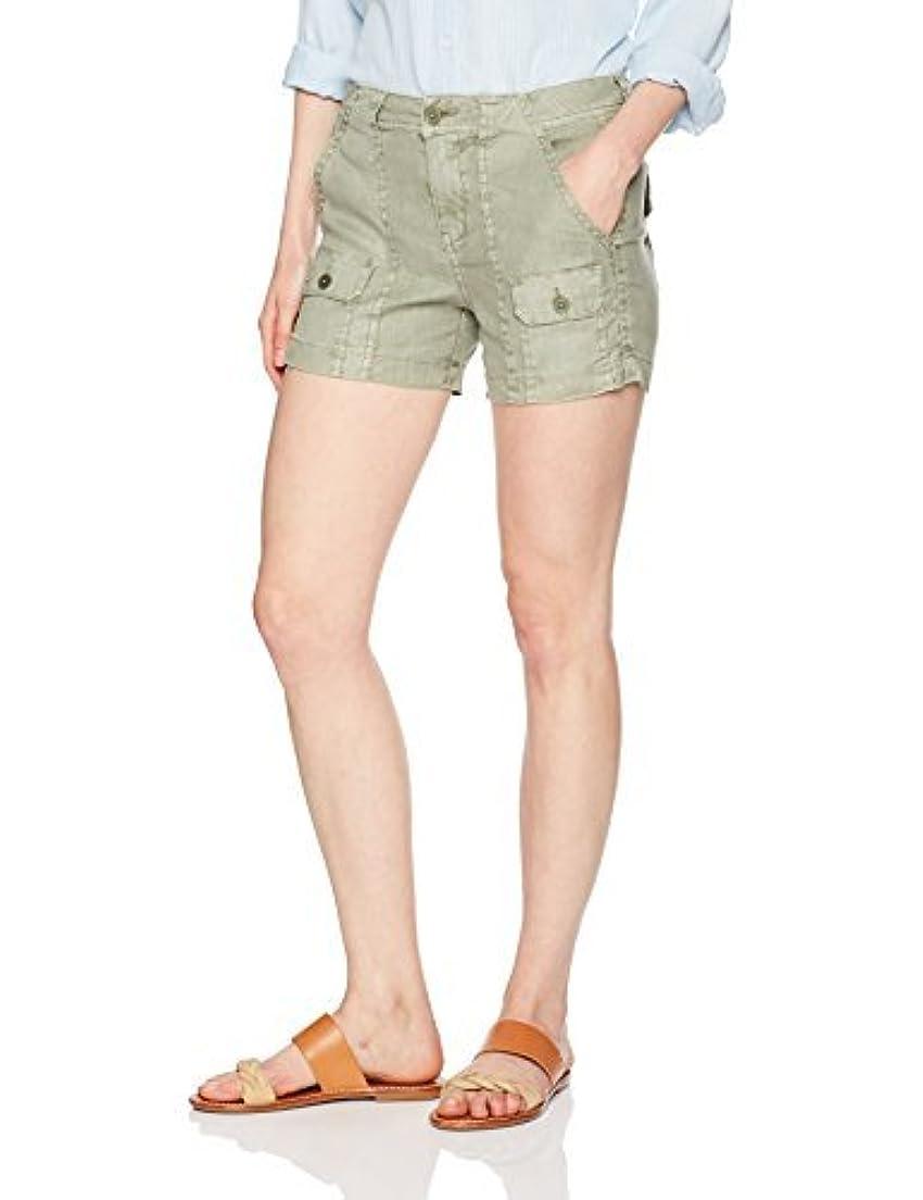 興味心のこもったシャープLevel 99 Women's Scarlet Cargo Trouser Short Aloe 26 [並行輸入品]