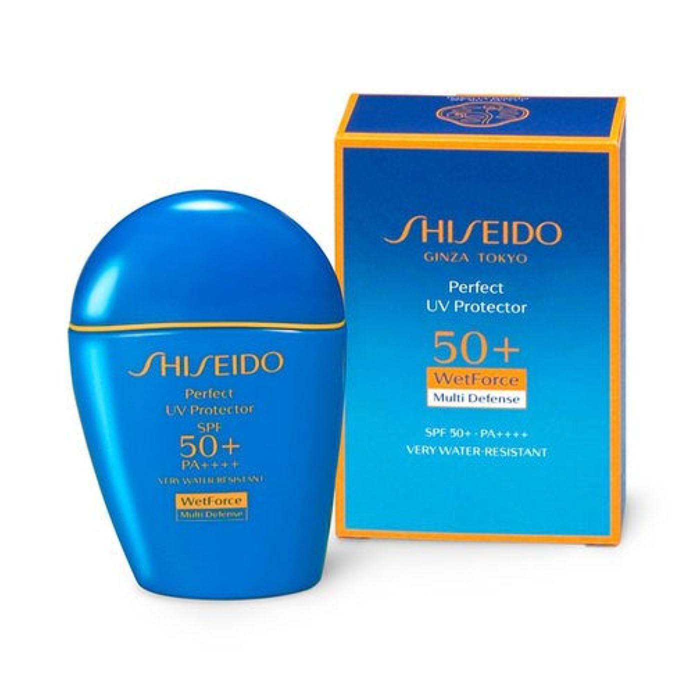 神秘的な一貫性のない袋SHISEIDO Suncare(資生堂 サンケア) SHISEIDO(資生堂) パーフェクト UVプロテクター 50mL
