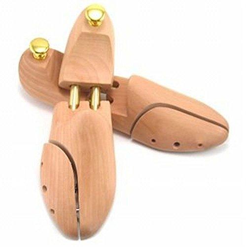 【高級】天然木製 シューキーパー シューツリー (35/36...