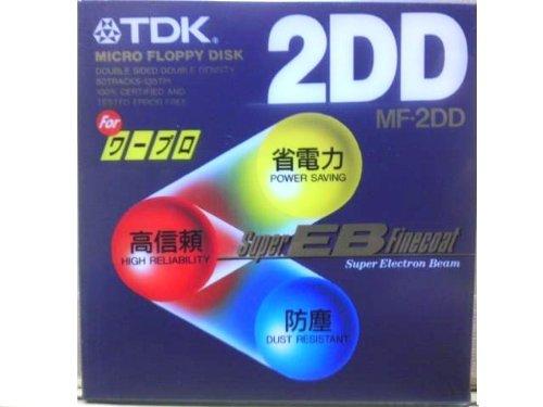 TDK ワープロ用 3.5インチ 2DD フロッピーディスク...