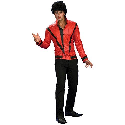マイケルジャクソン スリラー ジャケット コスプレ コスチューム 衣装 大人用 XLサイズ(USサイズ)
