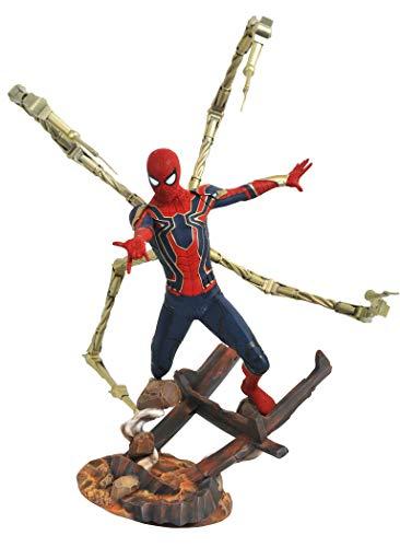 Diamond Select Toys Marvelプレミアコレクション: Avengers infinity WarスパイダーマンResin Statue