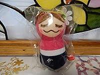 メゾンドリーファー 梨花人形ストラップ リンカちゃん マトリョーシカ ピンク キーホルダー